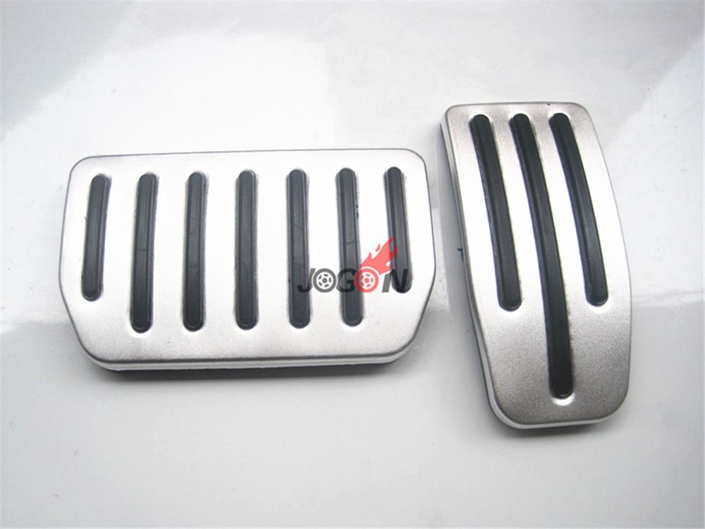 2pcs LHD Car Fuel Gas Brake Pedal Cover For Tesla Model X ...