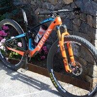 NEW TRIFOX Carbon road Frame Bicycle MTB 29er Cadre carbone T700 Mountain Bike Frame 148*12mm Super Light Suspension Frame