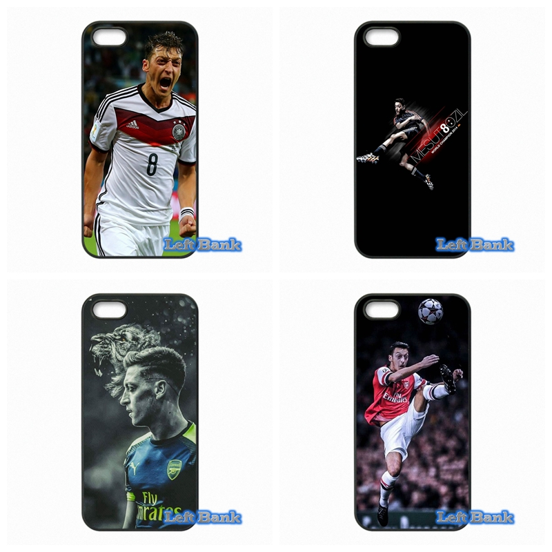 For Apple iPhone 4 4S 5 5S 5C SE 6 6S 7 Plus 4.7 5.5 iPod Touch 4 5 6 Mesut Ozil Soccer Star Case Cover