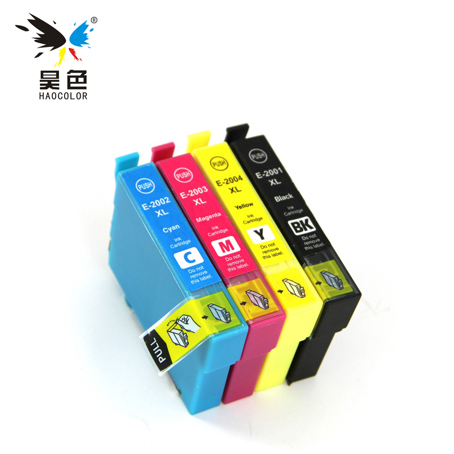 4X Compatible ink cartridge T2001 t 2001 xl T2001XL - T2004XL for <font><b>Epson</b></font> Expression Home <font><b>XP</b></font>-100 200 300 310 314 <font><b>400</b></font> 410 image