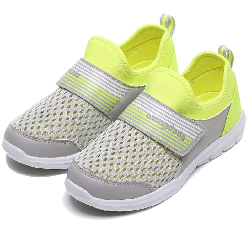 Boys Shoes Summer Sport Casual Style Children Shoes Breathable Mesh Kids Shoes Light Sneakers For Boys 2 Colors Hook&Loop air mesh breathable hook