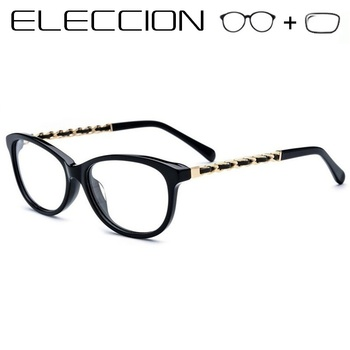 83637feaa0bf High Quality 2018 New Female Prescription Eyeglasses Cat s eye Style Gafas  Graduadas Optical Frames Women s Glasses Myopia