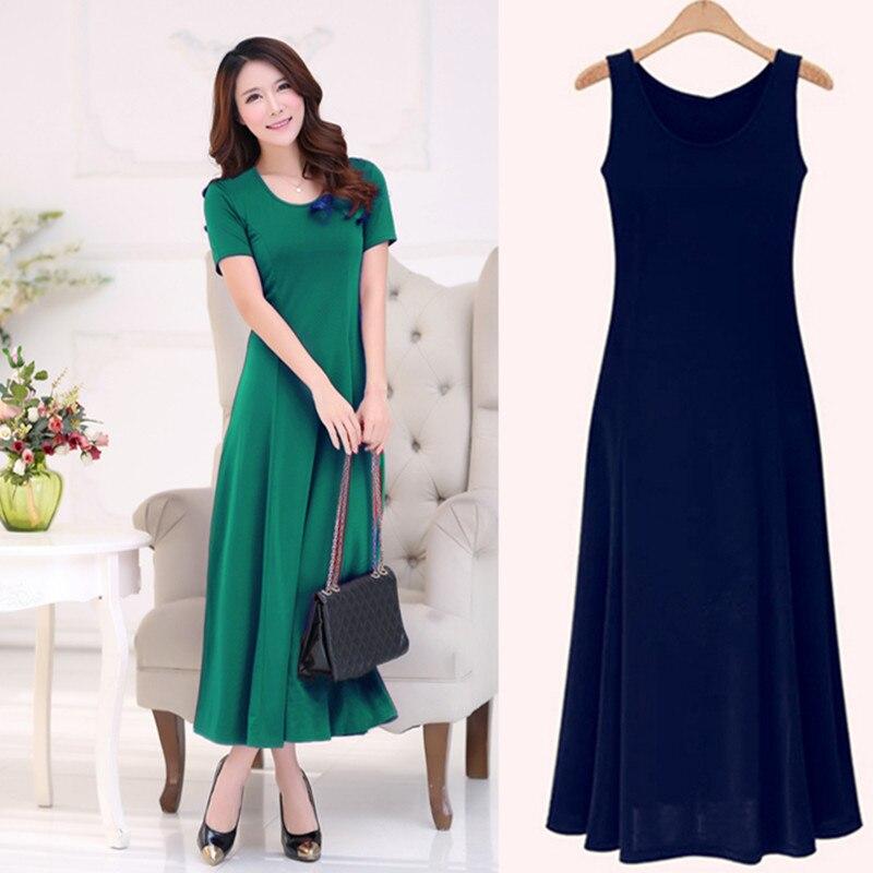 summer dress women 2018 fashion casual maxi dress plus size black dresses  boho sundress party ladies 380a88b04314