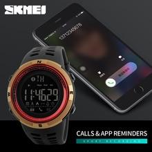 SKMEI Men Smart Bluetooth Pedometer Calories Fashion Outdoor Sport Watches Smart Wristwatches Waterproof font b Smartwatch