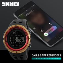 SKMEI Men Smart Bluetooth Pedometer Calories Fashion Outdoor Sport Watches Smart Wristwatches Waterproof Smartwatch Relojes 1250