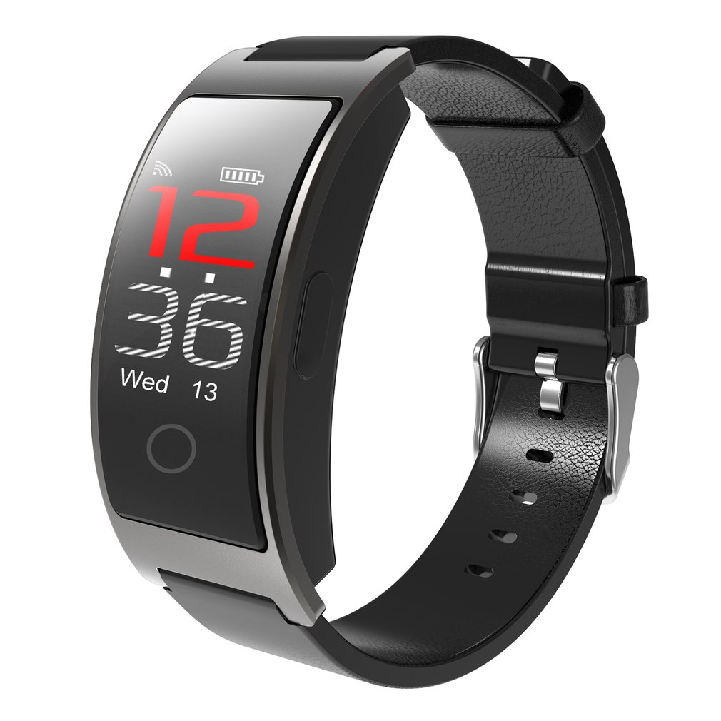 CK11C Smartband Bluetooth 0.96 IPS Color Screen Smart Bracelet IP67 Waterproof Sports Pedometer Fashion Heart Rate Monitor Watch