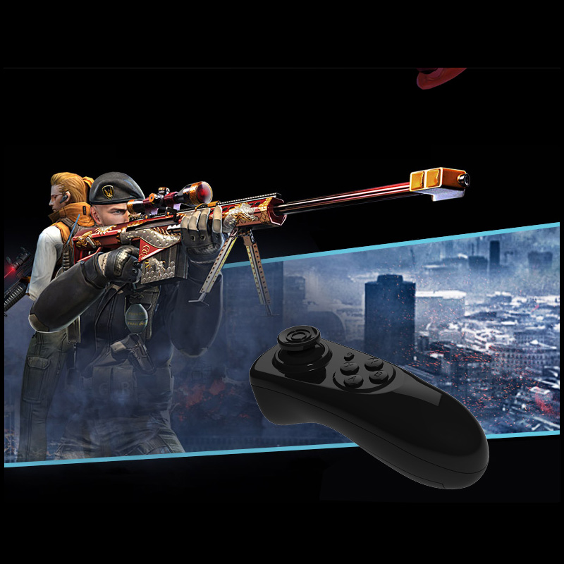 Bluetooth Gamepad VR Controller iOS Android phone Joystick Selfie Shutter Remote Control for Phone PC TV box Smart TV 22
