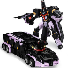WEI JIANG Cool Alloy Transformation Movie 5 Toys Robots Car