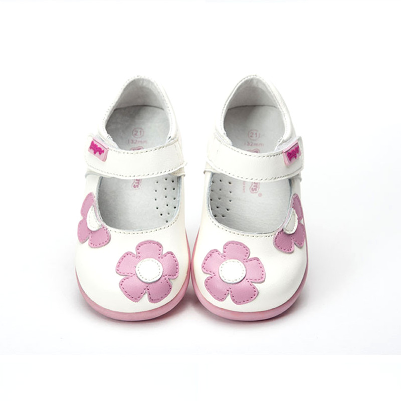 super quality 1pair Genuine Leather Shoes Orthopedic Children kids Fashion Shoes, New Girl single shoes