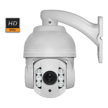 4 Inch 10x ip speed dome web camera 1.3mp 960P outdoor dome ptz ip camera