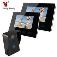 Yobang Security-9インチtft hd有線ビデオドアベルインターホンドア電話ホームセキュリティカメラビデオドア電話インターホンシステム