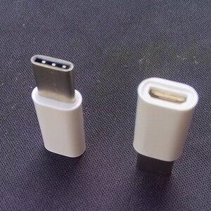 Image 4 - Mini Micro USB 3.1 prise femelle à type c mâle ou 8pin connecteur convertisseur de données adaptateur de charge