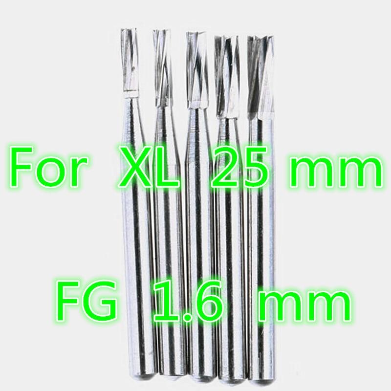 50 Pieces Lot High Speed Dental Tungsten Carbide Burs FG 1 6 mm XL 316 Polisher