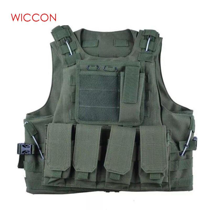Tactical Vest Military Equipment Men Military Vest Combat Special Security Police Protective Vest Outdoor Equipment