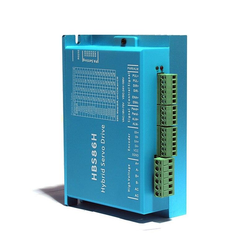 HB86H HBS86H closed loop servo motor driver hybrid step servo driver CNC controller