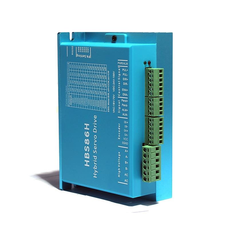 HB86H HBS86H closed loop servo motor driver hybrid step servo driver CNC controller original servo controller sgdb 20an