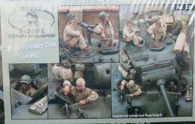 1:35  World War II US Tank Tanker 4 People