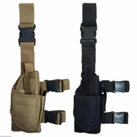 Outdoor Adjustable Hunting Drop Leg Thigh Holster Pouch Holder Tools Bag Stock In US