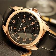 YAZOLE Marque De Luxe Montre-Bracelet Hommes Montre Mode Étanche Montres Romain Hommes de Montre Horloge saat relogio masculino reloj hombre