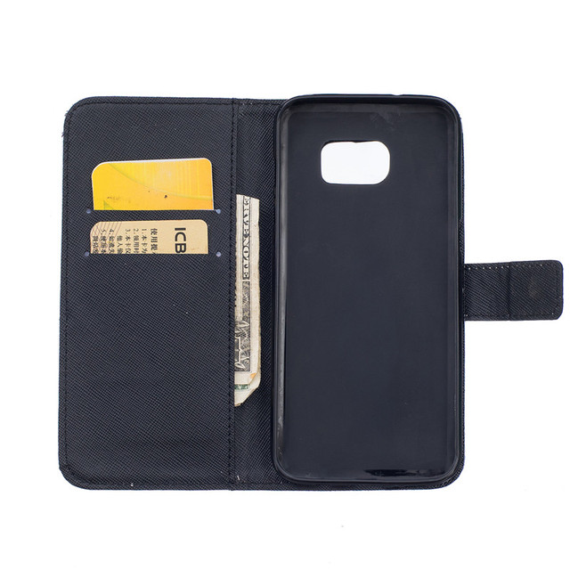Leather Phone Cases For Samsung Galaxy S7 Edge G9350