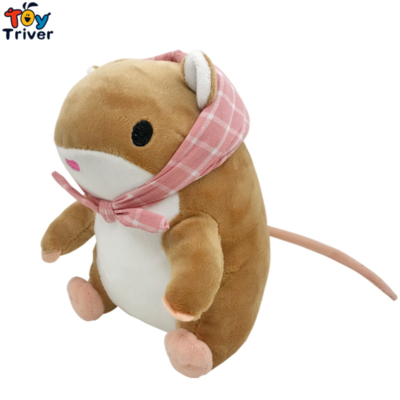 20cm Plush Simulation Mouse Toy Stuffed Hamster Animal Doll Baby Kids Children Birthday Gift Home Decor Travel Frog Game Triver 20cm plush cartoon red blue owl toy pendant stuffed dolls baby kids children kawaii gift toys home shop decoration triver page 4
