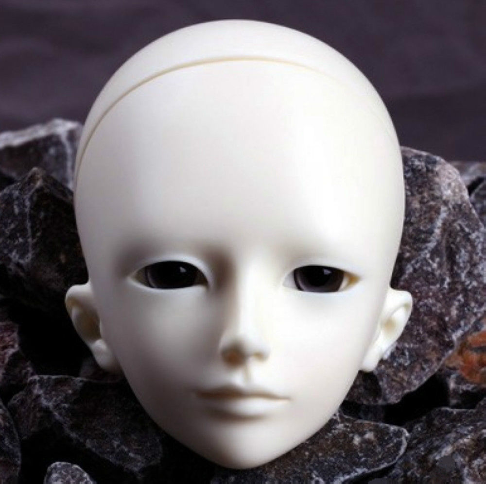 [wamami] AOD 1/4 BJD Dollfie Girl Doll Parts Single Head (Not Include Make-up)~Li Ge 1 3rd 65cm bjd nude doll bianca bjd sd doll girl include face up not include clothes wig shoes and other access