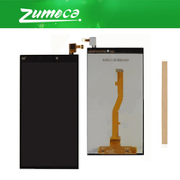 High Quality For Alcatel Nura 2 Nura2 M823 LCD Display Screen+Touch Screen Digitizer Assembly Replacement Part Black Color+Tape