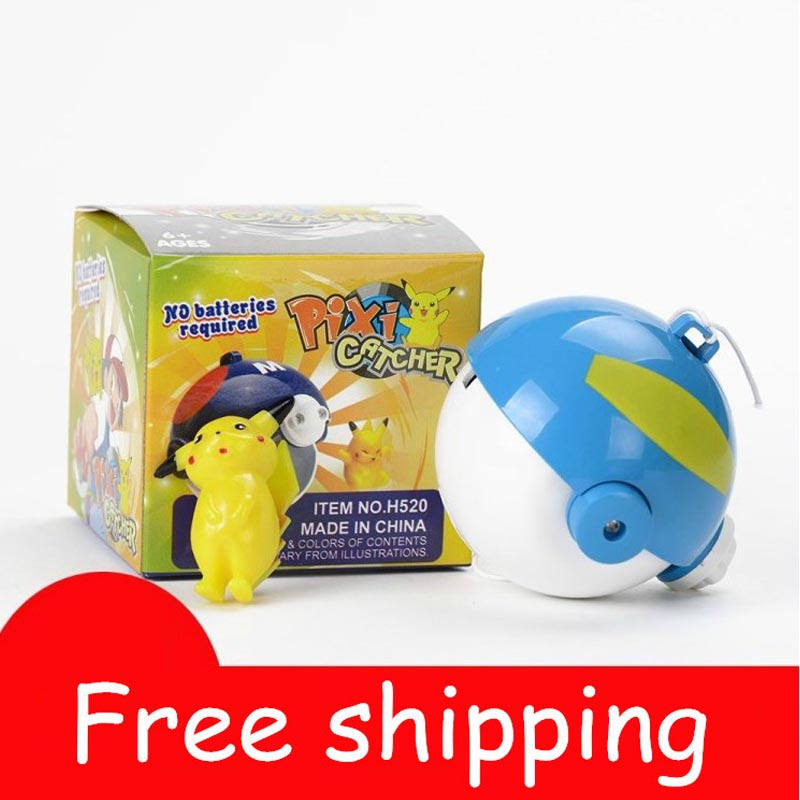 7 * 7 * 7cm Holiday Gifts Humorous Pikachu Hot Quality Plastic 2pcs/set Diameter Of About 6cm Doll Toy Doll Model Packed