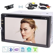 Double DIN In Dash Car DVD Player Car Stereo Touch Screen support Bluetooth USB SD MP3