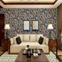 beibehang Explosive Pebble Wallpaper Culture Stone Stereo Wall paper Living Room Restaurant Bar PVC papel de parede wallpaper