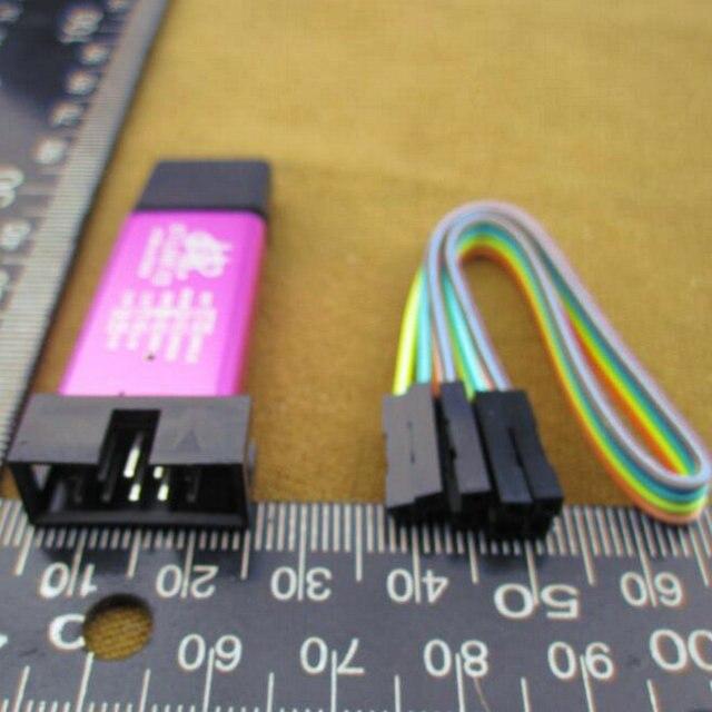 2 шт./лот УЛ-Ссылка V2 stlink мини STM8 STM32 STLINK симулятор скачать программирования С Крышкой (2 шт. = 1 шт. st-link + 1 шт. линия) 30390