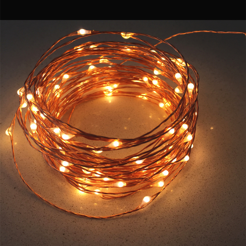 high quanlity 20m 66ft 200 leds copper wire led string. Black Bedroom Furniture Sets. Home Design Ideas