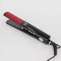 Professional Styling Tool LCD Display Titanium Plates Straightening Iron MCH Hair Straightener High Temperature Fast Heating
