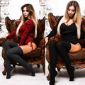 2017 Autumn Bandage Knitted Playsuit Winter Pullover Sexy Long Sleeve Bodysuit Women Tops Slim V-Neck Jumpsuit Casual Pull Femme