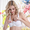 Front Closure  Mastectomy Bra Comfort Pocket Bra for Silicone Breast Forms Artificial Breast Cover Brassiere Underwear
