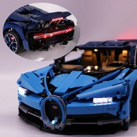 DIY Lighting LED Light Lighting Kit Compatible USB Interface Luminous Car Model Accessories for Lego Super Racing Bugatti 42083