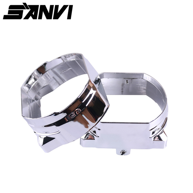 Sanvi Customized LED projector shrouds  mask for  H533 L62 Bi LED projector lens headlight Auto Lighting Accessory