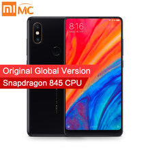 "In Stock Global Version Xiaomi Mi Mix 2S 6GB 128GB Snapdragon 845 Face ID NFC 5.99"" Full Screen AI Dual Camera Wireless charging(China)"