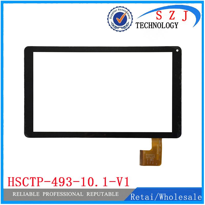 New 10.1'' <font><b>inch</b></font> for HSCTP-493-10.1-V1 tablet PC <font><b>Touchscreen</b></font> panel Digitizer Sensor replacement HSCTP-493 Free Shipping image
