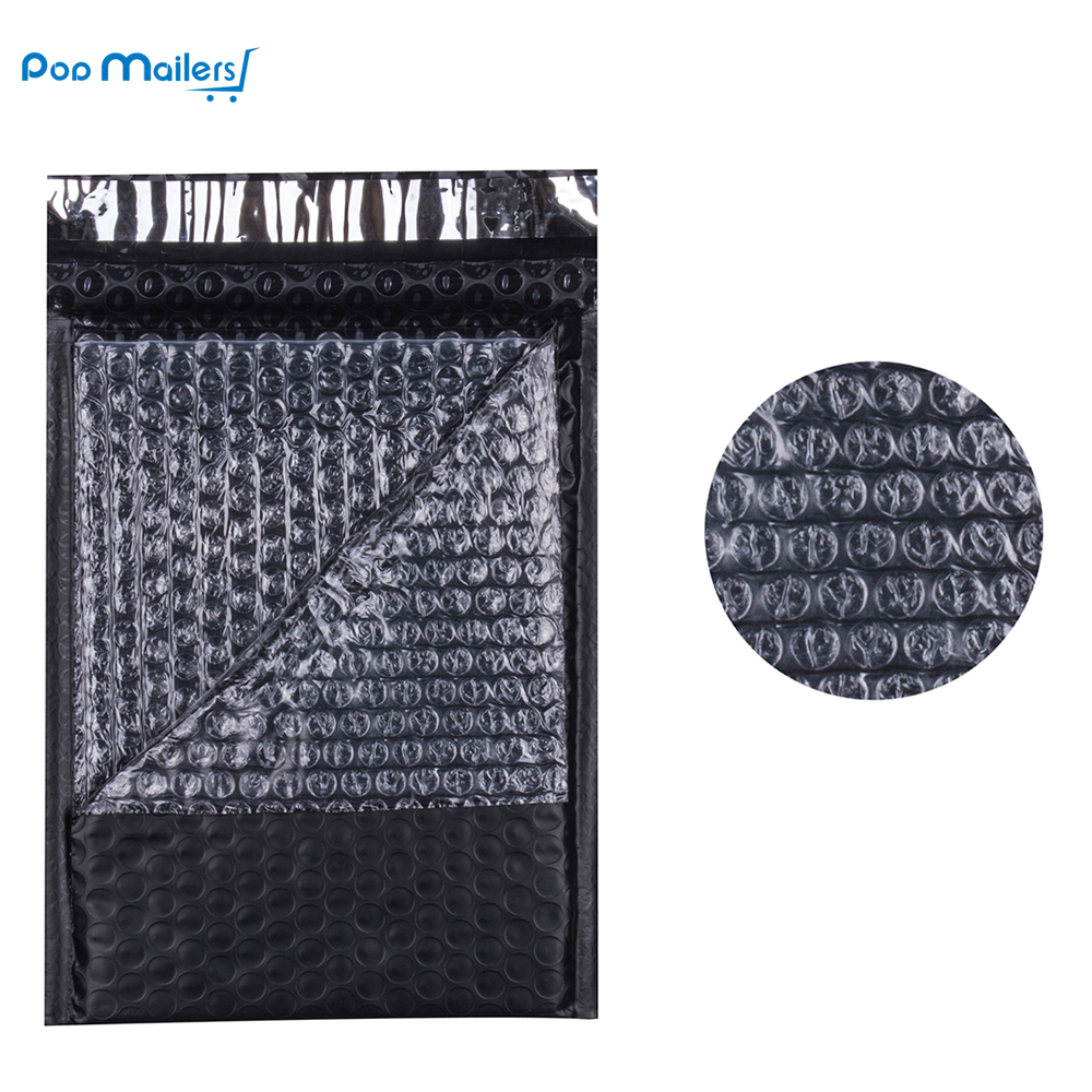10pcs 6x9inch 175*230mm Poly Bubble Mailing Mailer Shipping Padded Envelope Bags Black Color Shockproof Courier Bubble Mailer