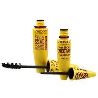 Yellow Tube Mascara 3d Mascara Fiber Lashes Thick Curling Lasting Waterproof Black Concentrated Eye Mascara Cosmetics TSLM2 3