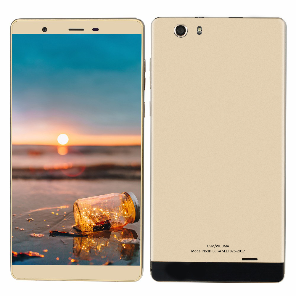 Cheapest smartphone 6 0 inch big screen Quad Core 3G WCDMA MTK6580 Android 5 1 512MB