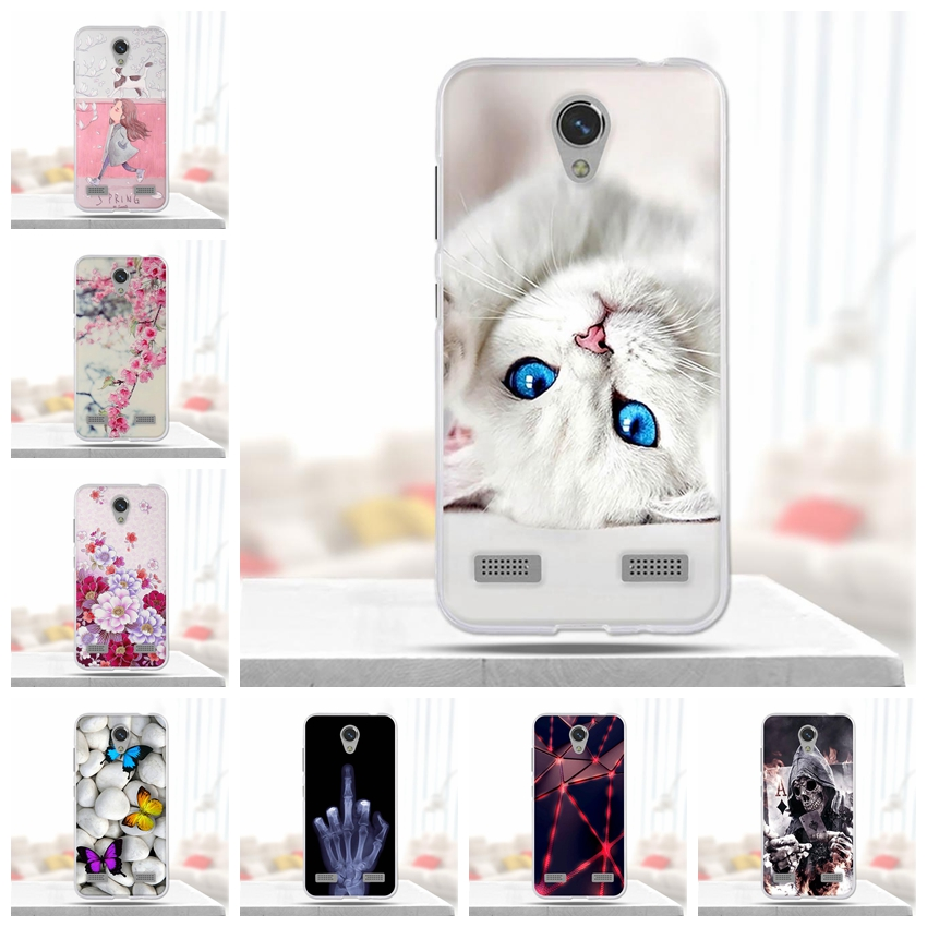 Soft TPU Case For ZTE Blade A520 Cover Case Silicone Fundas For ZTE Blade BA520 5.0