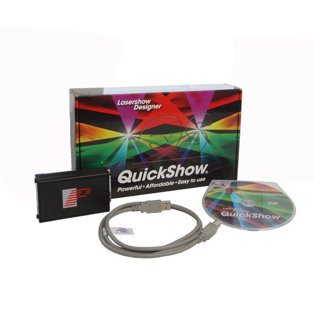 Quickshow Laser Light Show Software Pangolin FB3 Quickshow For Animation Laser Lighting Show DJ Satge Laser Light