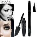 IMAGIC mascara de ojos del maquillaje lápiz de Ojos negro Larga duración Cosméticos Pestañas Alargamiento de Curling Impermeable