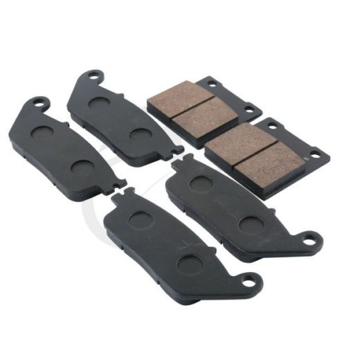 6 Pcs Semi-Metallic Disc Front Rear Brake Pads For Suzuki RF 600RR 1993-1997 GSF 600 Bandit 1995-1999 GSF 400 BANDIT 1995-1997
