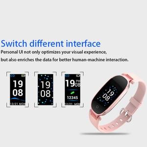 Image 3 - Смарт часы S3 Plus с цветным экраном, водонепроницаемые, С Пульсометром