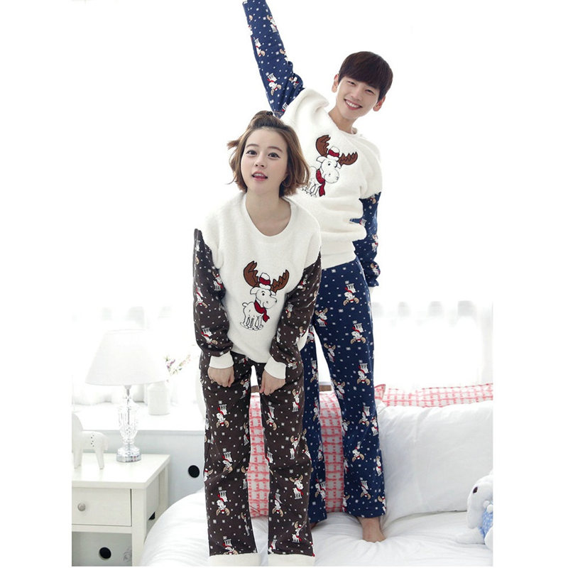 2018 New Year Christmas Dear Pajamas Family Matching Clothes Xmas Mama Women Man Family Clothing Christmas Pajamas Clothes Sets dear father christmas