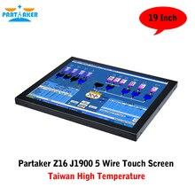 Linux Все В Одном Компьютере С Сенсорным Экраном С Соучастником J1900 Тайвань Высокая Температура 5 Провода Сенсорный Экран
