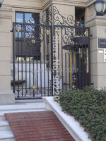 Custom Large Size Of Color Powder Coat Wrought Iron Gates